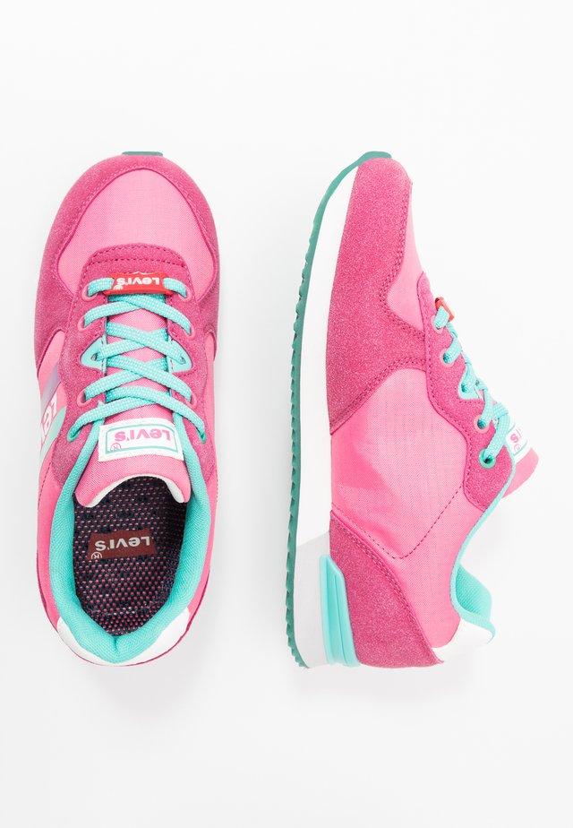SPRINGFIELD - Sneakers laag - fuchsia/green
