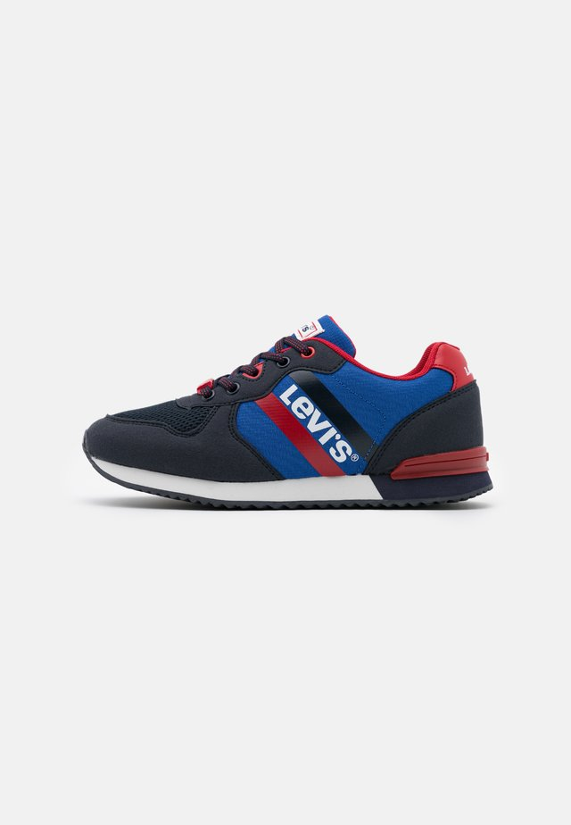 SPRINGFIELD - Sneaker low - navy/royal blue