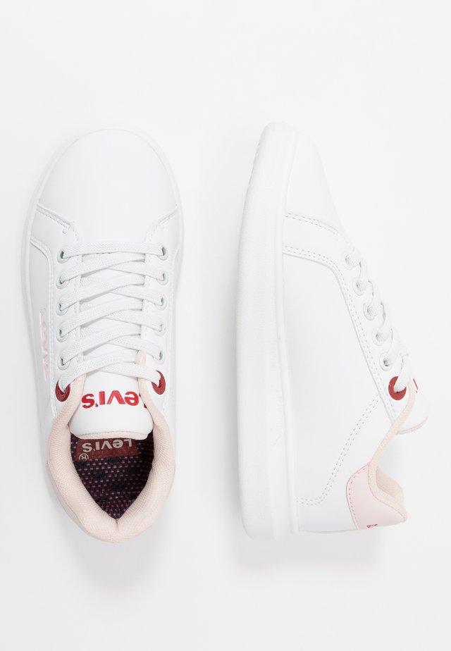 ELLIS - Slip-ins - white/pink