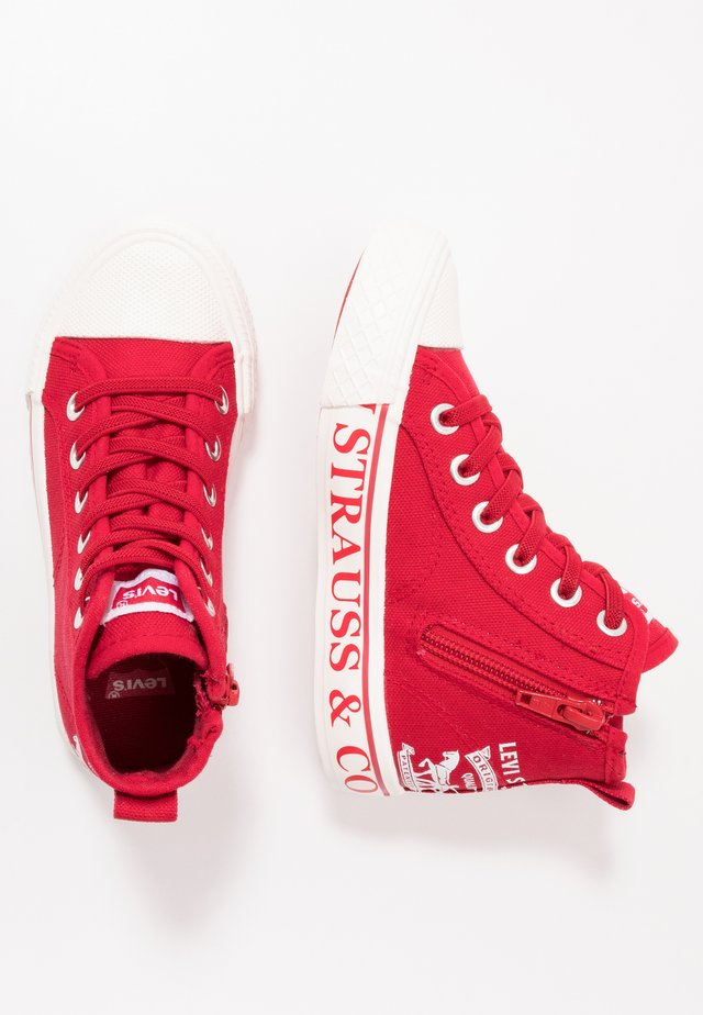 MAUI - Höga sneakers - red