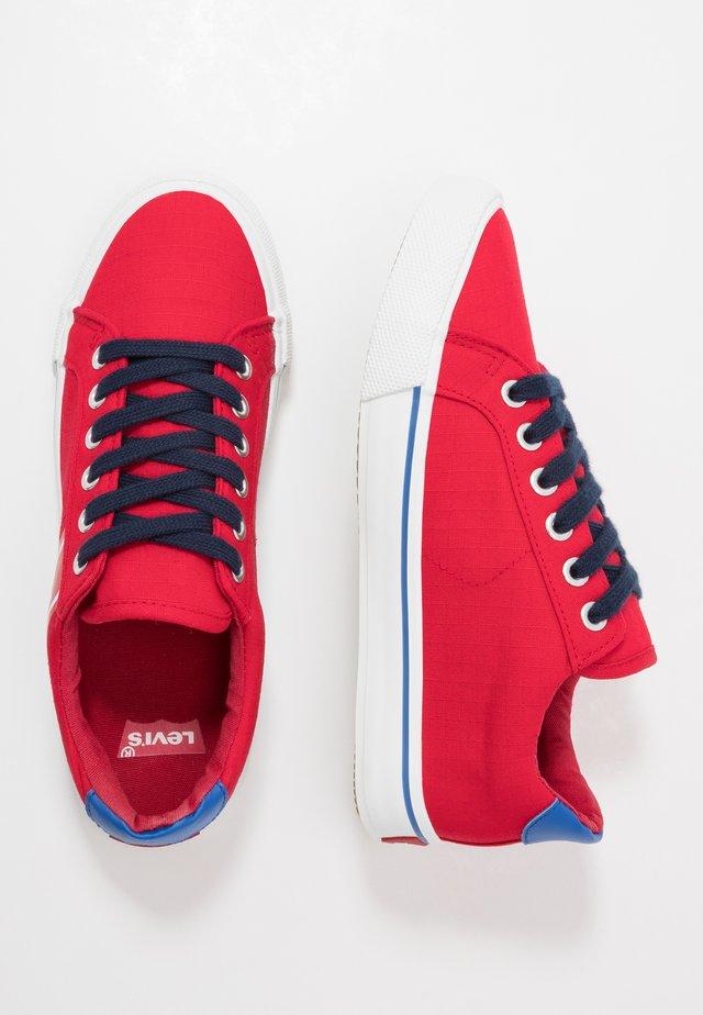 KINGSTON - Sneakers laag - red
