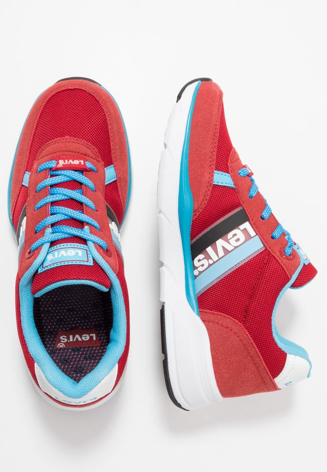 OREGON - Sneakers laag - red/turquoise