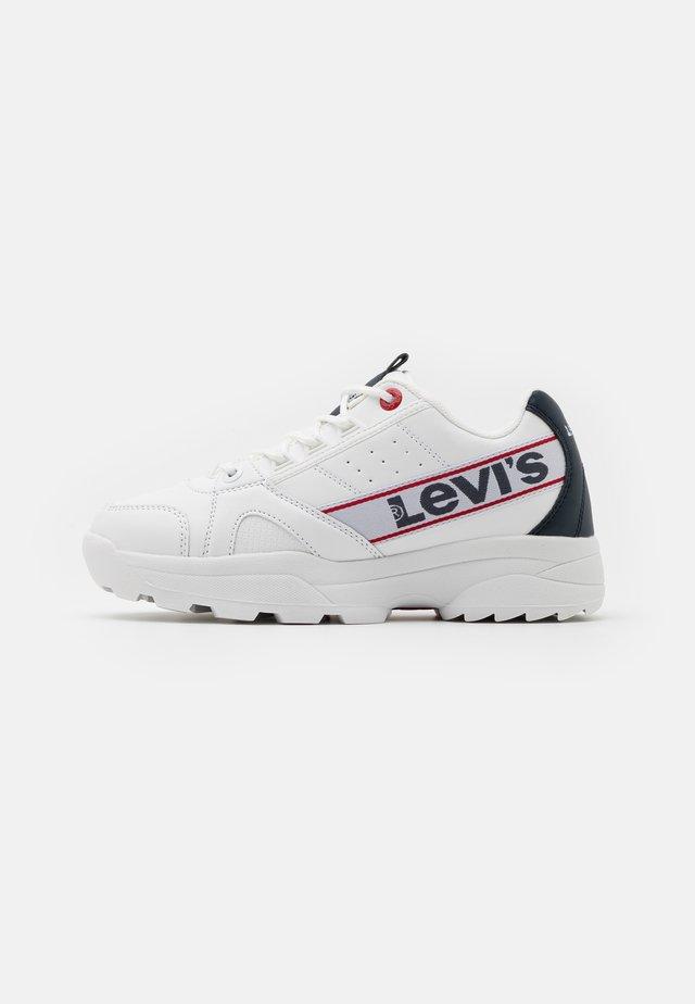 SOHO - Sneakers - white/navy/red