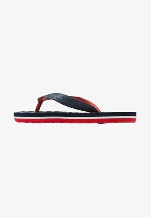 FLORIDA - Infradito da bagno - navy/red