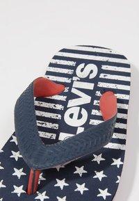 Levi's® - FLORIDA - Infradito da bagno - navy/red - 5