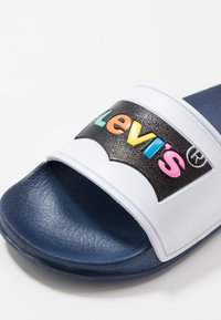 Levi's® - POOL  - Mules - white/navy - 2