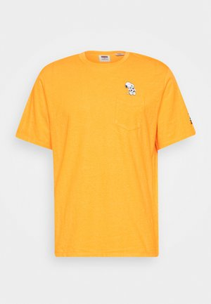 PEANUTS SUNSET POCKET TEE - T-shirt con stampa - gold fusion