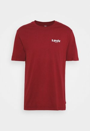 RELAXED FIT TEE UNISEX - T-shirts med print - reds