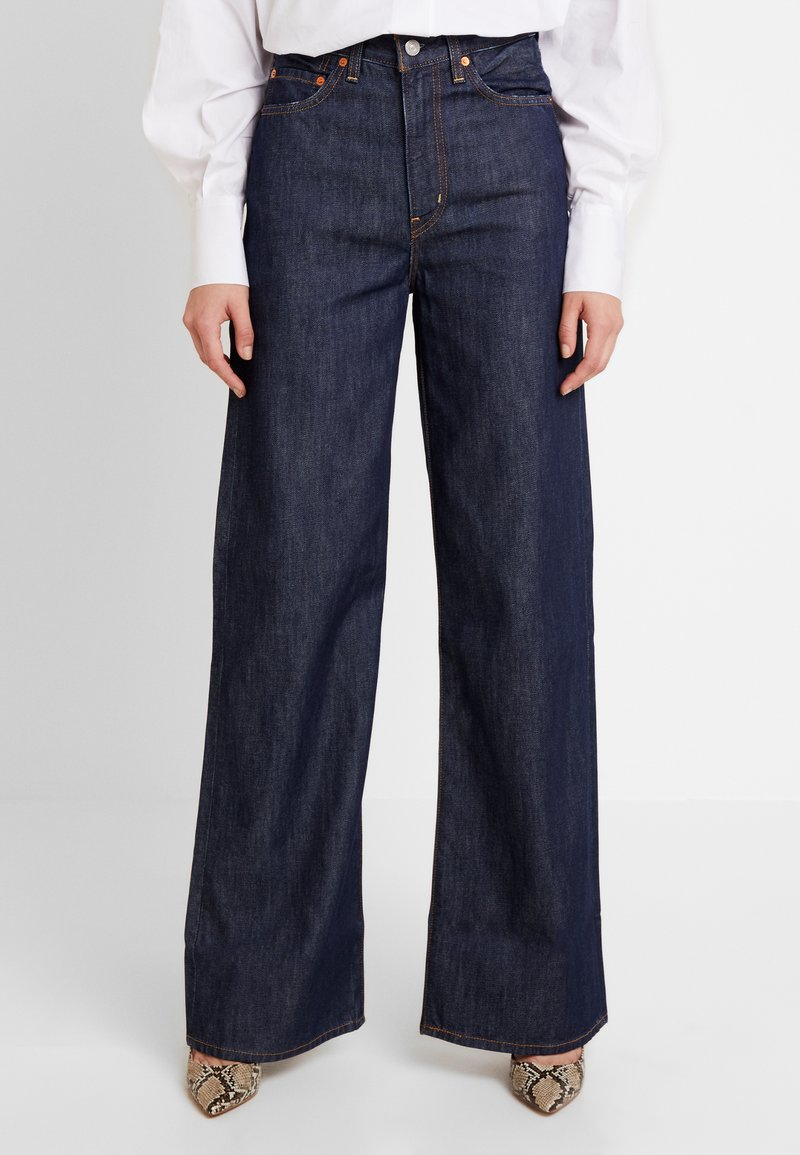 Levi's® - RIBCAGE WIDE LEG - Jeans a zampa - high and mighty