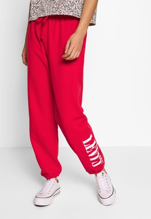 LOGO - Tracksuit bottoms - heather smokestack
