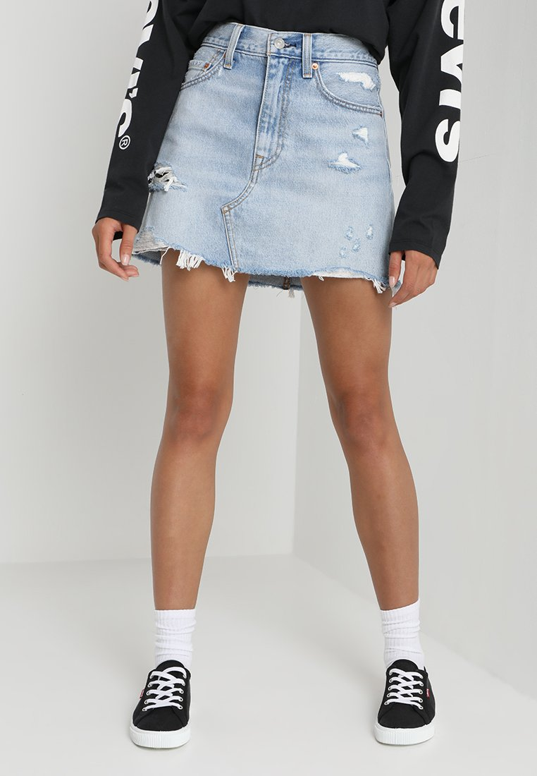 Levi's® - DECONSTRUCTED SKIRT - A-Linien-Rock - whats the damage