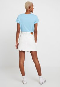 Levi's® - DECON ICONIC SKIRT - Jupe trapèze - pearly white - 2