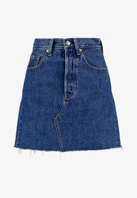 Levi's® - DECON ICONIC SKIRT - Falda acampanada - dark-blue denim - 4
