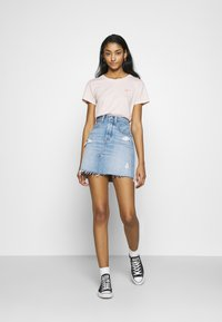 Levi's® - DECON ICONIC SKIRT - A-linjekjol - light-blue Denim - 1