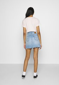 Levi's® - DECON ICONIC SKIRT - A-linjekjol - light-blue Denim - 2