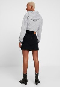 Levi's® - DECON ICONIC SKIRT - A-line skirt - black denim - 2