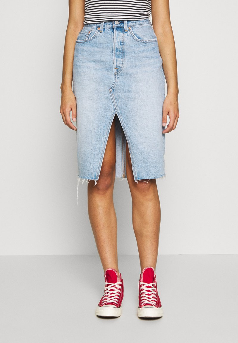 Levi's® - DECONSTRUCTED MIDI SKIRT - Jupe crayon - broken hearted