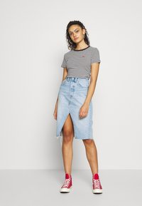 Levi's® - DECONSTRUCTED MIDI SKIRT - Jupe crayon - broken hearted - 1