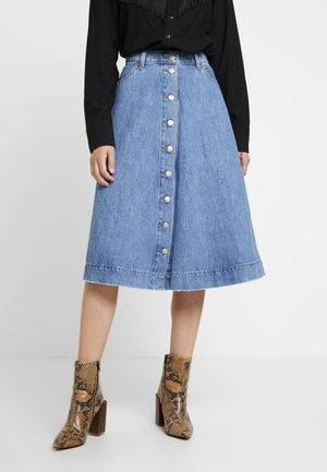BUTTONCIRCLE SKIRT - A-line skirt - front page worthy