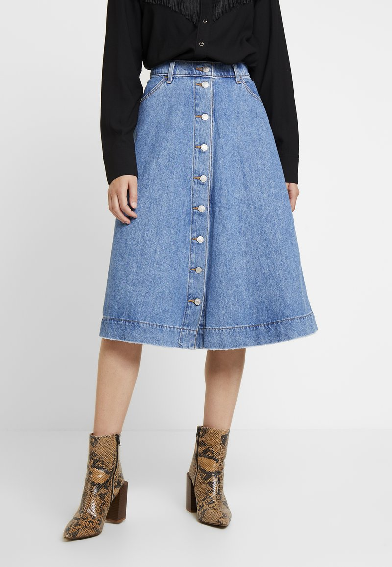 Levi's® - BUTTONCIRCLE SKIRT - A-Linien-Rock - front page worthy