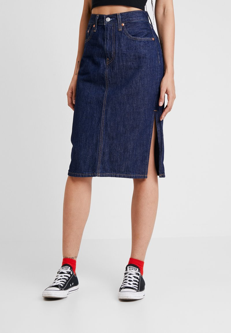 Levi's® - SIDE SLIT SKIRT - Pencil skirt - juniper ridge