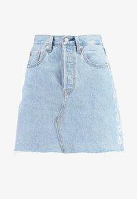 Levi's® - DECON ICONIC SKIRT NEEDLECRAFT - A-line skirt - med indigo - 3