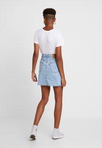 Levi's® - DECON ICONIC SKIRT NEEDLECRAFT - A-line skirt - med indigo - 2