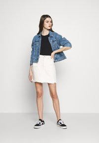 Levi's® - DECON ICONIC SKIRT - Farkkuhame - neutral ground - 1