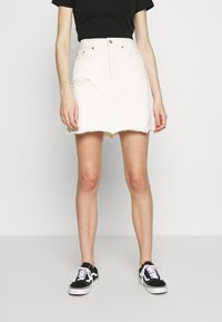 Levi's® - DECON ICONIC SKIRT - Farkkuhame - neutral ground - 0