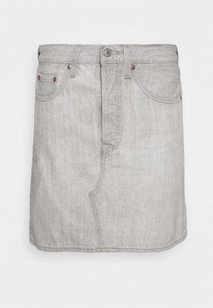 DECON ICONIC SKIRT - Denimová sukně - grey ice