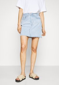 Levi's® - DECON ICONIC SKIRT - Denim skirt - light up my life - 0