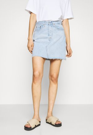 DECON ICONIC SKIRT - Jupe en jean - light up my life
