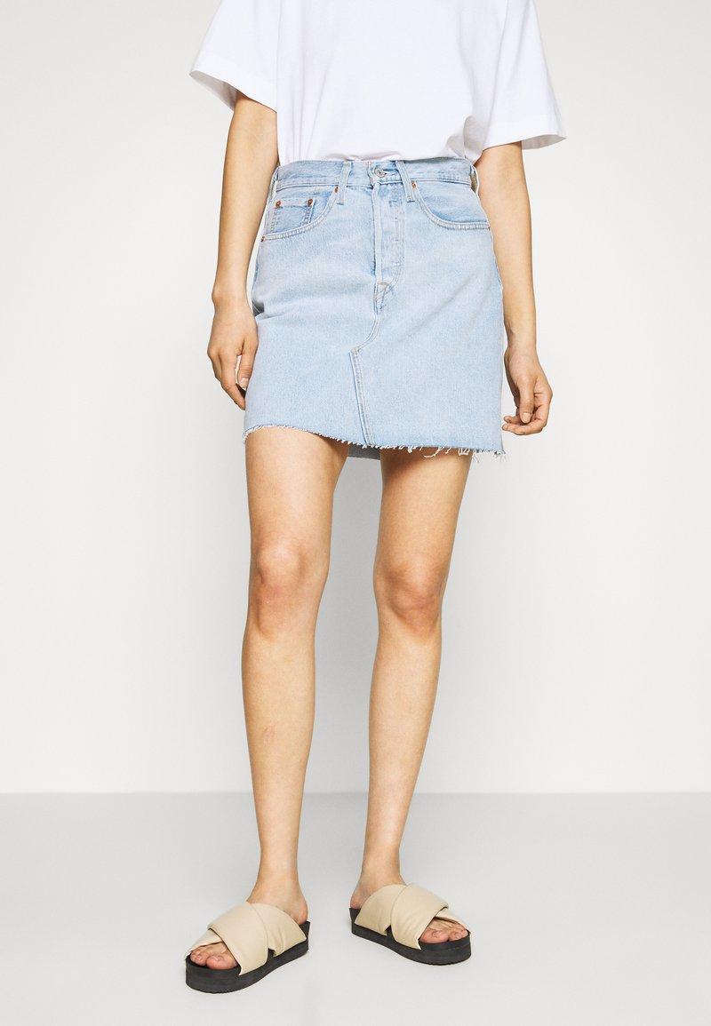 Levi's® - DECON ICONIC SKIRT - Denim skirt - light up my life