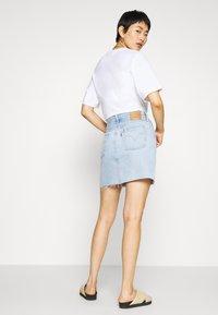Levi's® - DECON ICONIC SKIRT - Denim skirt - light up my life - 2