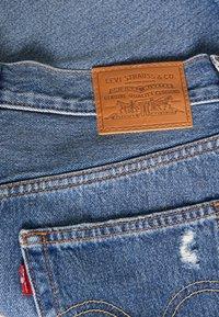 Levi's® - DECON ICONIC SKIRT - Falda vaquera - stone blue denim - 2
