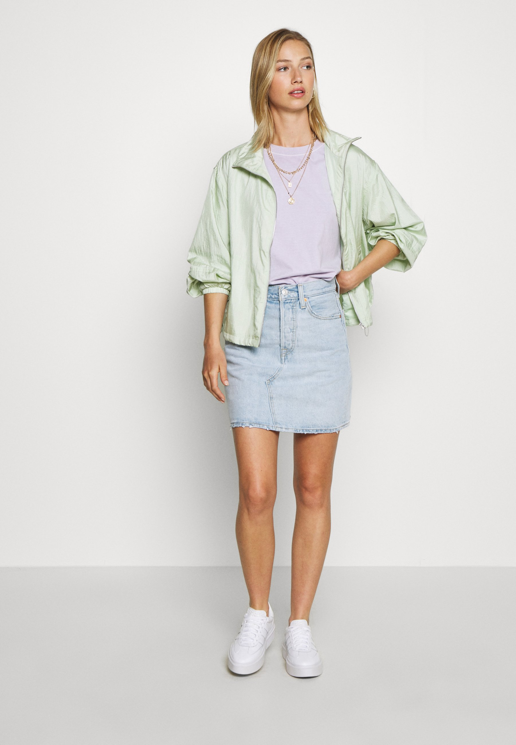 Levi's® Decon Iconic Skirt - A-snit Nederdel/ A-formede Nederdele Check Ya Later