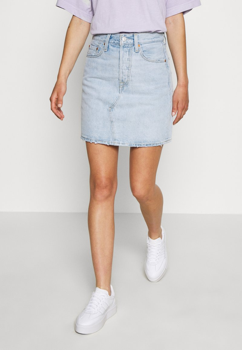 Levi's® - DECON ICONIC SKIRT - A-linjainen hame - check ya later