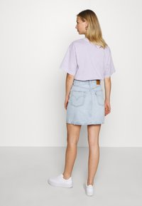 Levi's® - DECON ICONIC SKIRT - A-linjainen hame - check ya later - 2