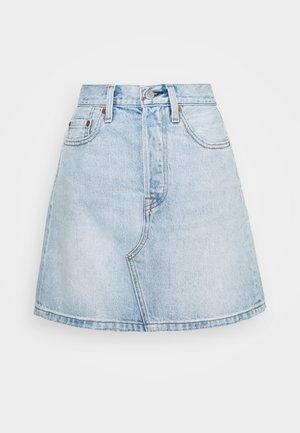 DECON ICONIC SKIRT - Denim skirt - check ya later