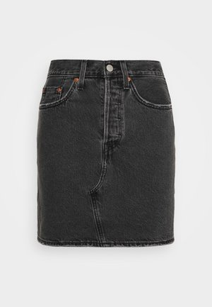 DECON ICONIC SKIRT - Jupe en jean - black denim