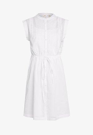 PRETTY DRESS - Skjortekjole - white