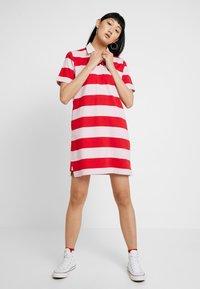 Levi's® - RUGBY DRESS - Jumper dress - reece pink lady - 1