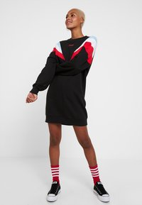 Levi's® - FLORENCE CREW DRESS - Vestido informal - baby tab cb dress meteorite - 0