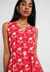 Levi's® - NEDA SLEEVELESS DRESS - Shirt dress - flipped brilliant red