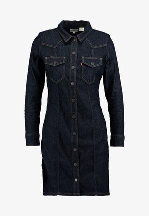 GIA WESTERN DRESS - Vestito di jeans - take it eazy
