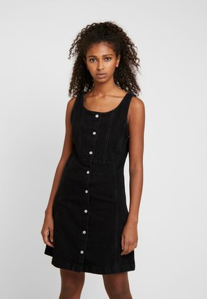 SIENNA DRESS - Spijkerjurk - black book