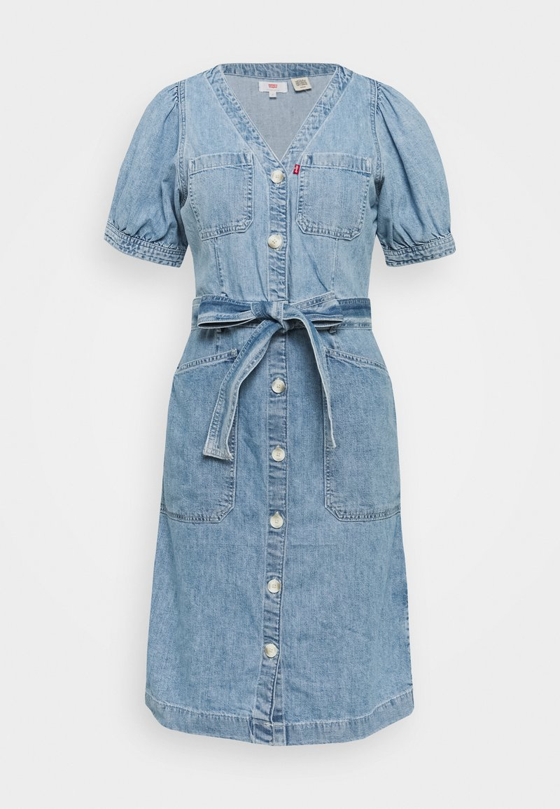 Levi's® - BRYN DRESS - Denim dress - light blue denim