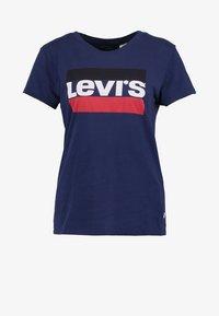 Levi's® - THE PERFECT - T-shirt imprimé - blue - 4