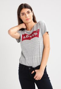 Levi's® - THE PERFECT - T-shirt z nadrukiem - grey - 0