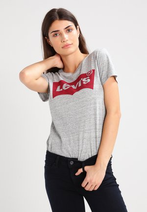 THE PERFECT - T-shirt print - grey